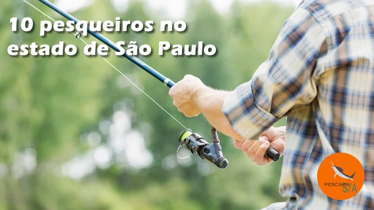 10 pesqueiros no estado de São Paulo