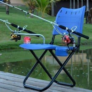 cadeira de pesca presente de pescador para o dia dos pais