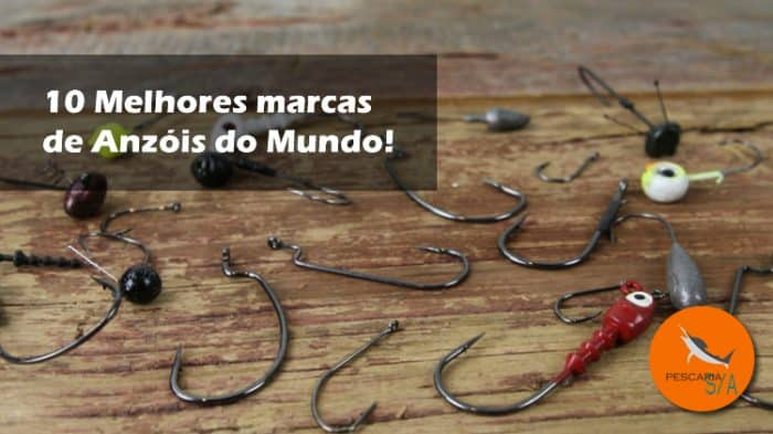 10 melhores marcas de anzol de pesca do mundo