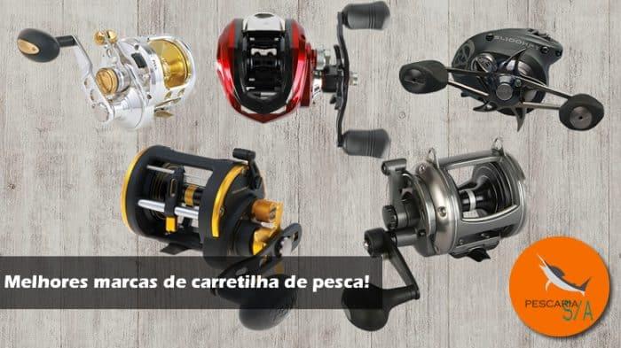 10 melhores marcas de carretilha de pesca do mundo