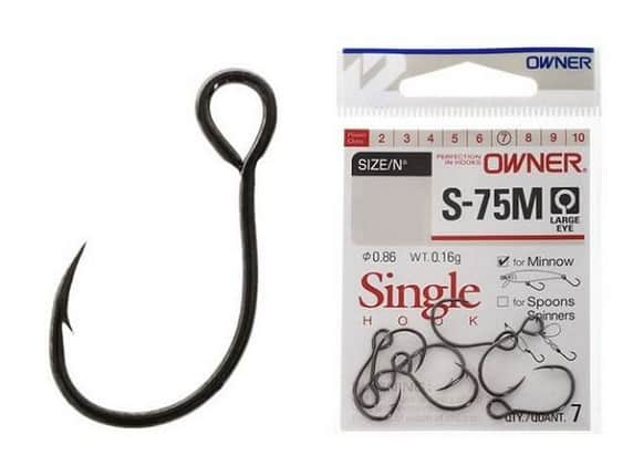 Anzol Owner Single Hook S-75M 2/0