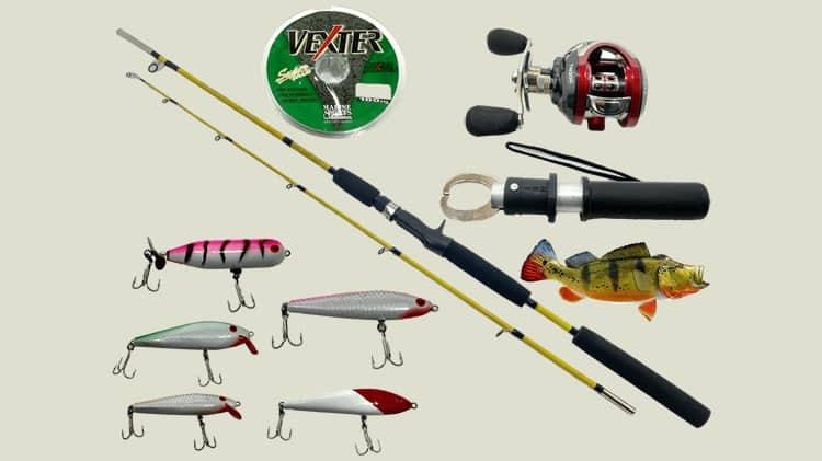 kit de pesca completo