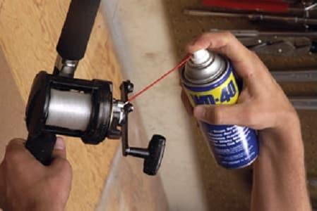 lubrificante para equipamentos de pescar