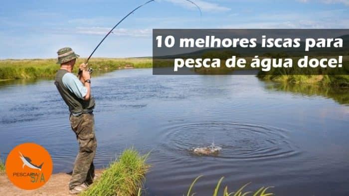 10 melhores iscas para pesca de água doce