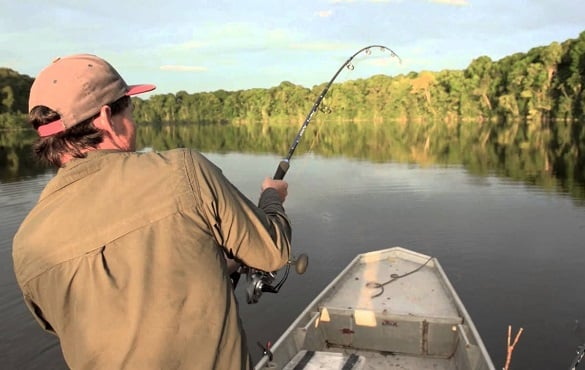 kit de pesca água doce pescadores experientes