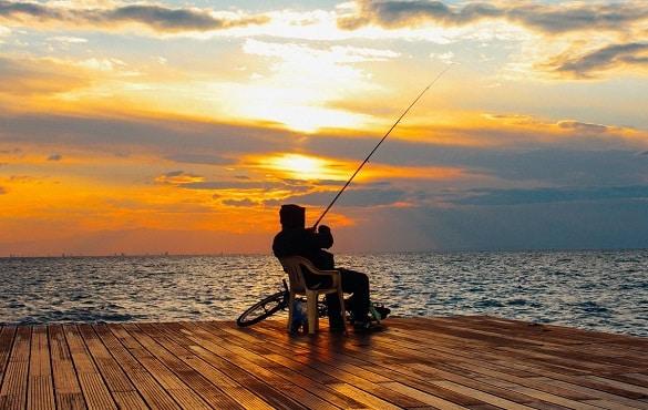 kit de pesca água doce pescadores iniciantes
