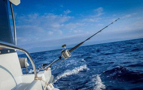 água salgada pescadores experientes