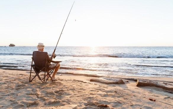 kit pesca água salgada pescadores iniciantes