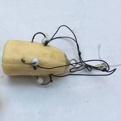 isca de banana para pescar carpa