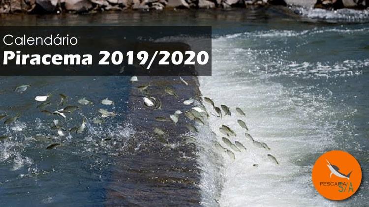 Quando fecha a pesca em 2019 – Piracema 2019-2020