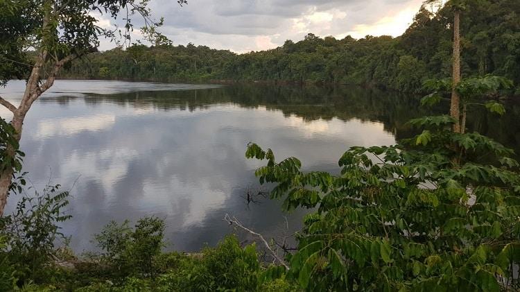 rio trombetas pará brasil