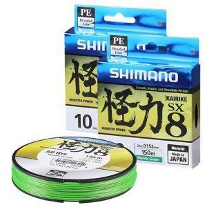 linha de pesca multifilamento shimano kairiki sx8