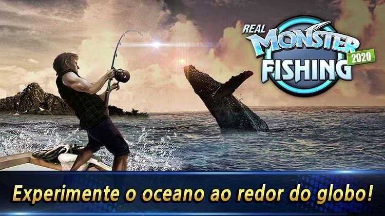 melhores jogos de pesca monster fishing