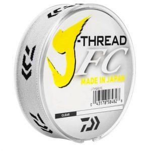 melhores marcas de linha fluorcarbono para leader j-thread fc leader daiwa