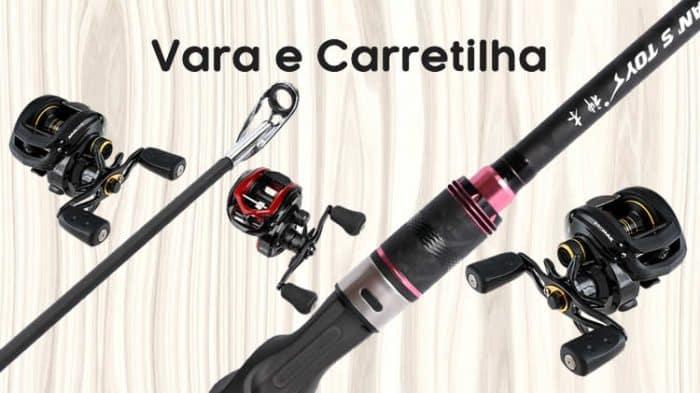 presentes para quem gosta de pescar vara e carretilha