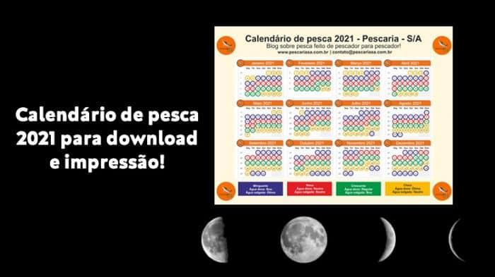 calendário de pesca lunar 2021 download grátis imprimir