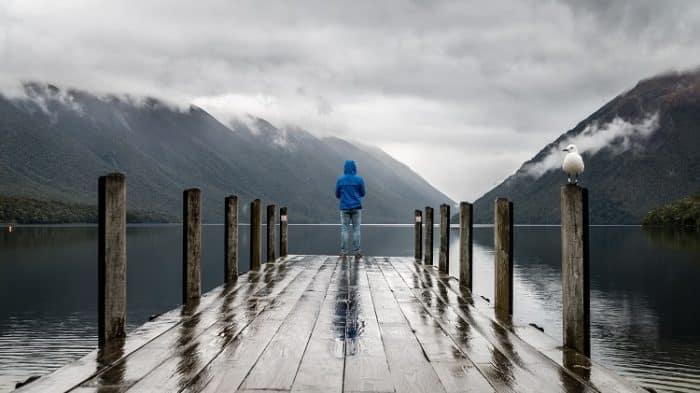 como pescar na chuva sem correr riscos