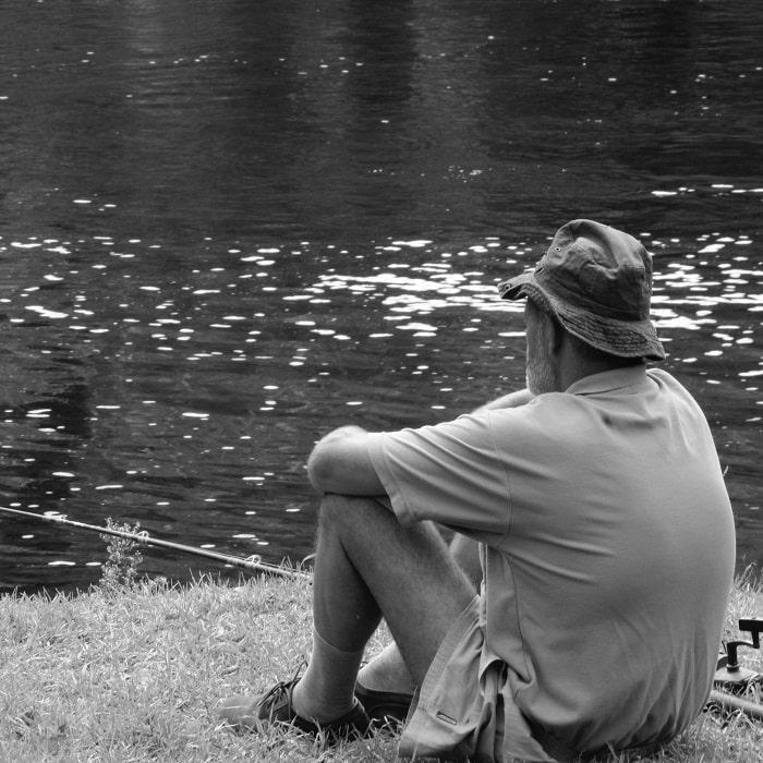 pesca de água doce