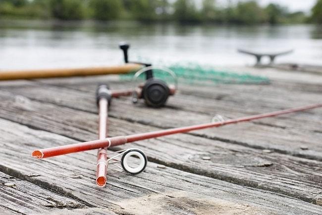 vara quebrada situações irritantes na pescaria