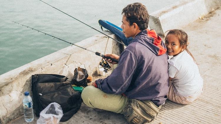 Os pescadores são mais felizes que as outras pessoas?