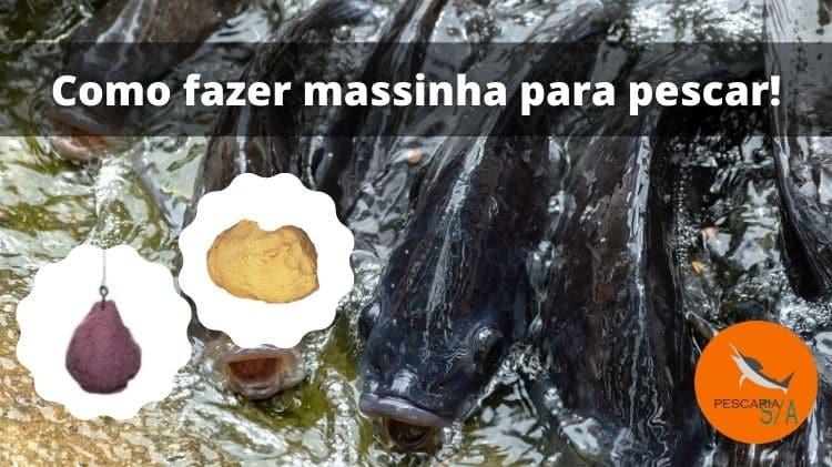 Como fazer massinha para pescar – 2 receitas