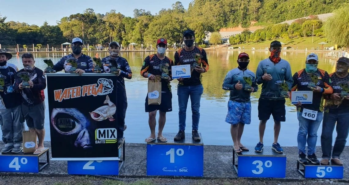 Dupla de Marau é a campeã do 3º Circuito Sesc de Pesca Esportiva