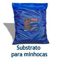 substrato para minhocas